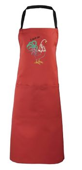 I Rule The Rooster Embroidered Apron